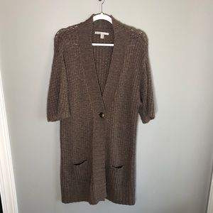 Old Navy Open Front Pocket Long Cardigan Sweater